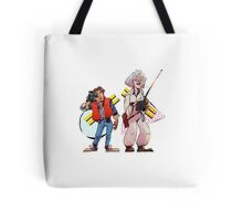 Back to the Future Past Tote Bag