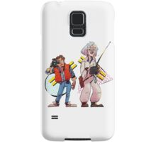Back to the Future Past Samsung Galaxy Case/Skin