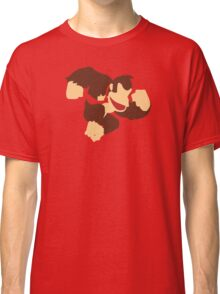 Donkey Kong w/ Color Tie Classic T-Shirt