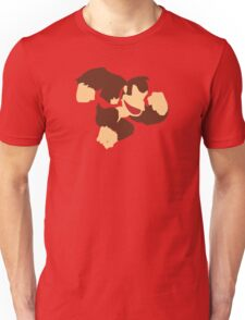 Donkey Kong w/ Color Tie Unisex T-Shirt