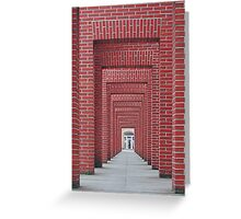 Through the Brick Walls Greeting Card