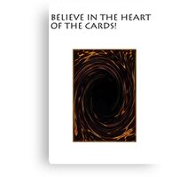 YU-GI-OH heart if the cards Canvas Print
