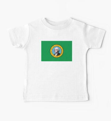 Washington Flag Baby Tee