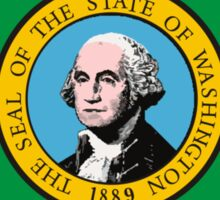 Washington Flag Sticker