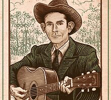 Hank Williams - I'm So Lonesome I Could Cry - Poster by Thomas Shahan