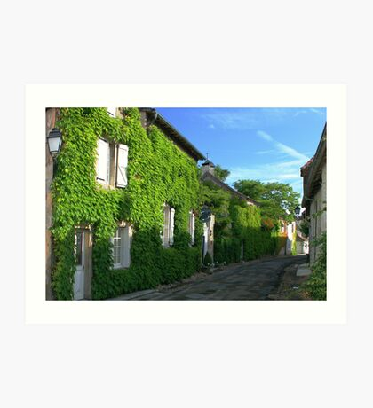 Village in the Dordogne Art Print