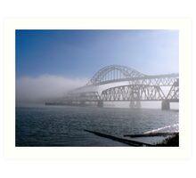 Fog on the Fraser Art Print