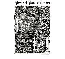 Astrophilus & Xenologia Print - Project Praeterlimina Photographic Print