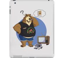 Gamer bear iPad Case/Skin