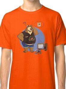 Gamer bear Classic T-Shirt