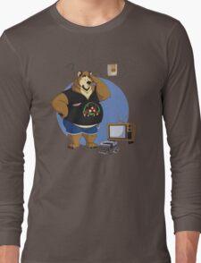 Gamer bear Long Sleeve T-Shirt