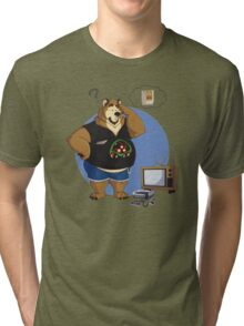 Gamer bear Tri-blend T-Shirt