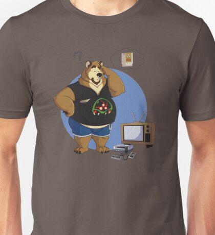 Gamer bear Unisex T-Shirt