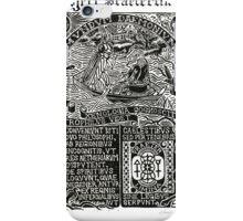 Astrophilus & Xenologia Print - Project Praeterlimina iPhone Case/Skin