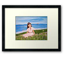 Butterfly Beach Framed Print