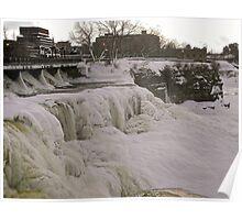 Frozen Rideau Falls #3 Poster