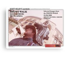 Draft Cover for Scott Kelby's Photo Walk Worldwide, South Africa Photo Walk Metal Print