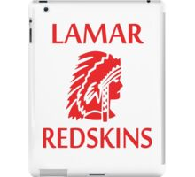 Lamar Redskins iPad Case/Skin