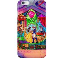 Beauty & The Beast Glass Art iPhone Case/Skin