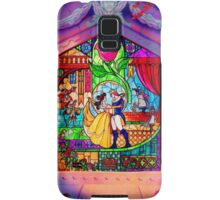 Beauty & The Beast Glass Art Samsung Galaxy Case/Skin