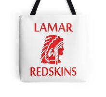 Lamar Redskins Tote Bag