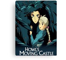 Howls Movie Castle (Howl & Sophie) Canvas Print