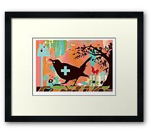 Bird Aid Framed Print
