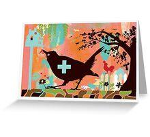 Bird Aid Greeting Card