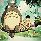 "My Neighbor Totoro ""Family Photo"" by GiraffesAreCool"