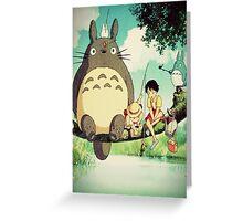 "My Neighbor Totoro ""Family Photo"" Greeting Card"