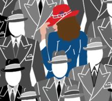 Agent Carter-A pop of Color Sticker