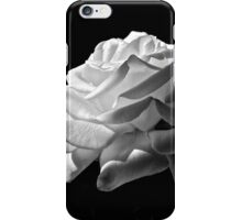 Rose in Black and White iPhone Case/Skin