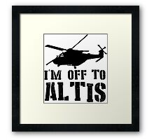 Arma 3 - I'm off to Altis #2 Framed Print