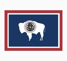 Wyoming Flag Kids Clothes