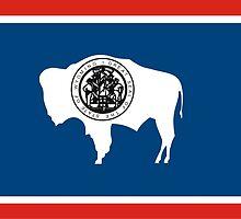 Wyoming Flag by tony4urban