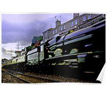 Express Steam Poster