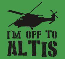 Arma 3 - I'm off to Altis #2 Kids Tee