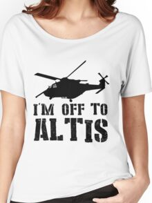 Arma 3 - I'm off to Altis #2 Women's Relaxed Fit T-Shirt