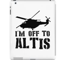 Arma 3 - I'm off to Altis #2 iPad Case/Skin