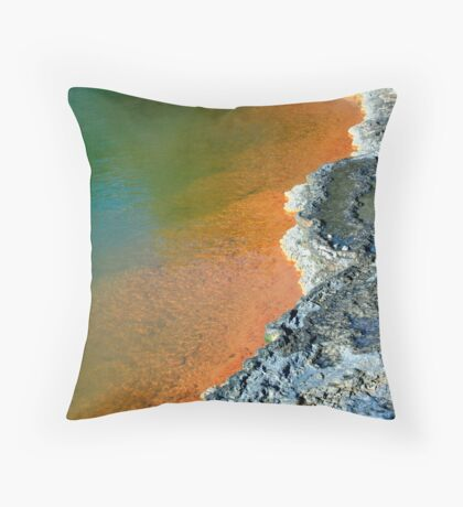 Champagne Pool #3 Throw Pillow