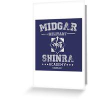 Midgar Academy Greeting Card