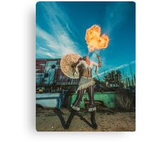 Dragons Heart Canvas Print