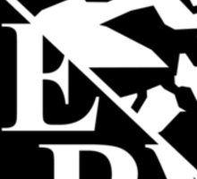 evangelion nerv logo  Sticker