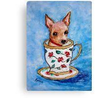 Teacup... Canvas Print