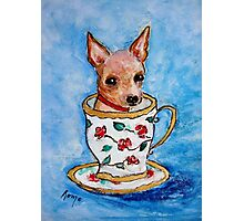 Teacup... Photographic Print