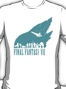 Final Fantasy 7 - Turquoise T-Shirt