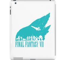Final Fantasy 7 - Turquoise iPad Case/Skin