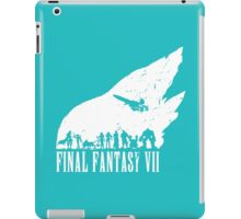 Final Fantasy 7 - White iPad Case/Skin