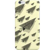 Paper Airplane 13 iPhone Case/Skin