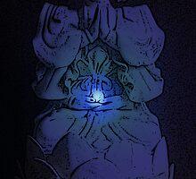 Glowing Tranquil Buddha by wanda1505